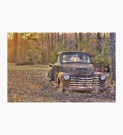 Grandpa's Old Truck Photographic Print
