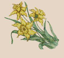 "Daffodils ""t"" by artbyjehf"