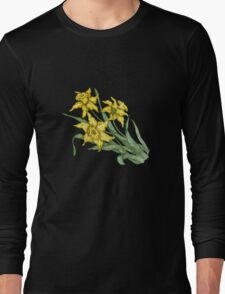 """Daffodils """"t"""" Long Sleeve T-Shirt"""