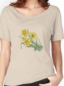 "Daffodils ""t"" Women's Relaxed Fit T-Shirt"
