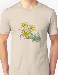 """Daffodils """"t"""" Unisex T-Shirt"""