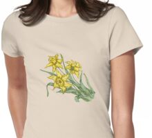 "Daffodils ""t"" Womens Fitted T-Shirt"