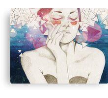 Glitter Canvas Print