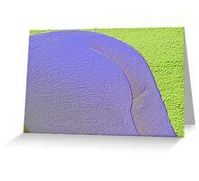Neon Bottom Greeting Card