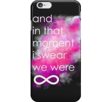 the perks of being a wallflower iPhone Case/Skin