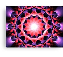 Pink Aster Canvas Print