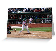 Baseball Game Greeting Card