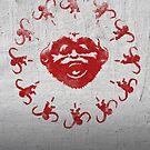 Barrel of 12 Monkeys (Red Paint) by DJKopet