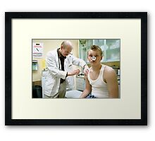 Swine Flu Framed Print