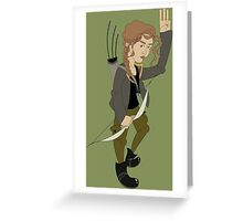 Katniss Everdeen - Hunger Games Greeting Card