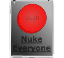 how to get away with murder (nuke everyone)  iPad Case/Skin