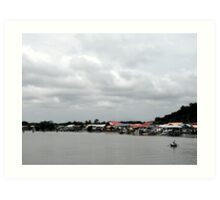 Borneo Art Print