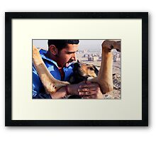 Love Is Painful Framed Print