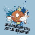 You should see me at level 20. by Loz Still