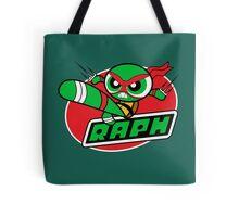 Powerpuff Raph Tote Bag