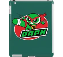 Powerpuff Raph iPad Case/Skin