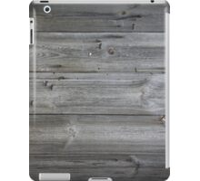 wood texture - wooden background 1 iPad Case/Skin