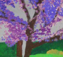 The Jacaranda Tree Sticker