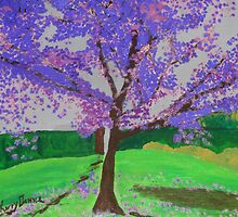 The Jacaranda Tree by kerrysart