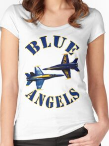 Blue Angels Women's Fitted Scoop T-Shirt