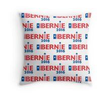Bernie Sanders - white Throw Pillow