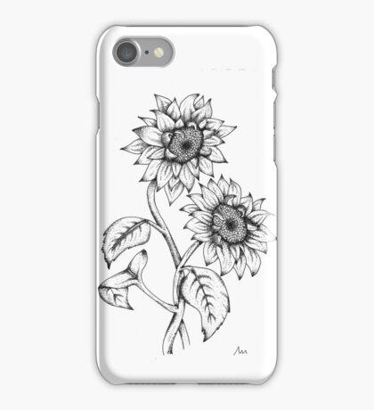 Dot Work Sunflower iPhone Case/Skin