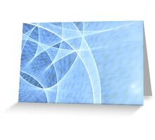 Twisted Lights Greeting Card