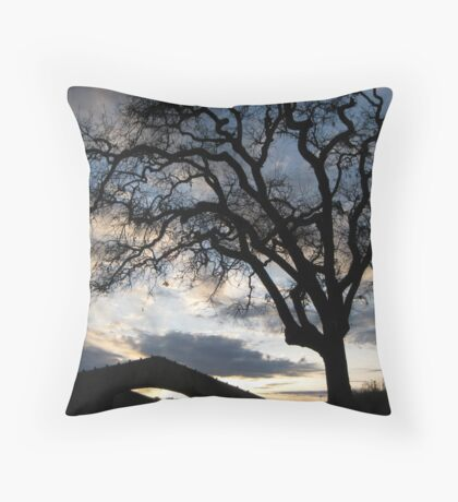 Sunstone Winery Throw Pillow