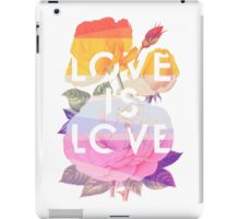 Love is Love iPad Case/Skin