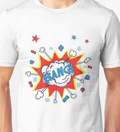 Onomatopoeia - Bang! Unisex T-Shirt