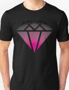 Pink Black Diamond Unisex T-Shirt