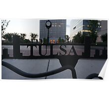 The Tulsa Sign Poster