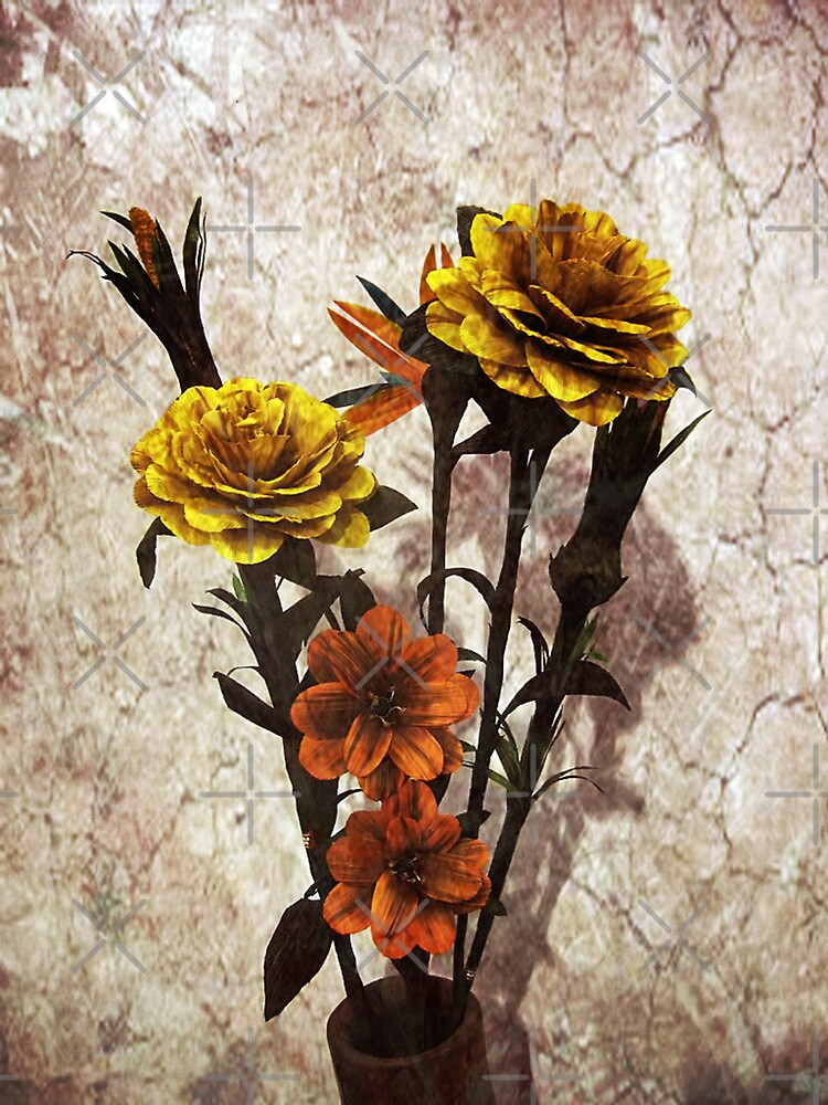 Hand made Flowers by Maria  Gonzalez