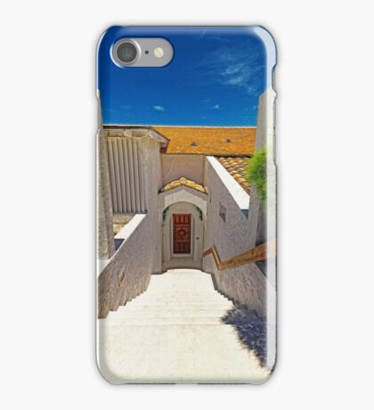 Eastern Road Property Entrance in Nassau, The Bahamas iPhone Case/Skin