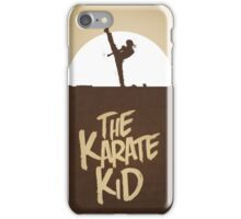 KARATE KID - Minimal Silhouette Poster Design iPhone Case/Skin