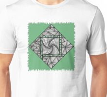 Paradox Tile on Green Unisex T-Shirt