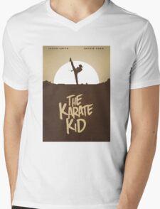 KARATE KID - Minimal Silhouette Poster Design Mens V-Neck T-Shirt