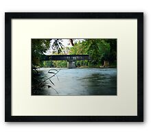 Over The Iowa Framed Print
