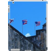 Puerto Rican and American Flag iPad Case/Skin