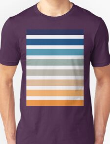 Beach- Sand, Ocean, Sunset sky Color Theme Unisex T-Shirt