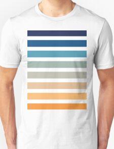 Beach- Sand, Ocean, Sunset sky Color Theme Unisex T-Shirt