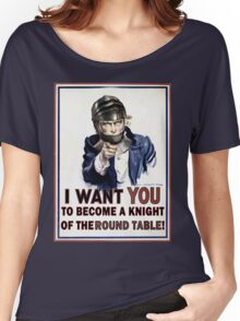Uncle Sam- The Round Table Women's Relaxed Fit T-Shirt