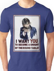 Uncle Sam- The Round Table Unisex T-Shirt