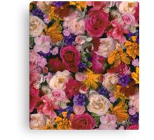 Colorful flowers Canvas Print