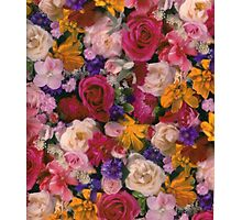 Colorful flowers Photographic Print