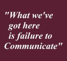 failure to communicate by ralphyboy