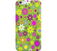 Flower Whimsy iPhone Case/Skin