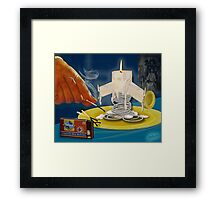 No Rest for the Wicked? Framed Print