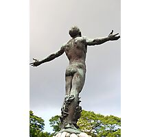 University of the Philippines Oblation (slightly tilted rear view) Photographic Print
