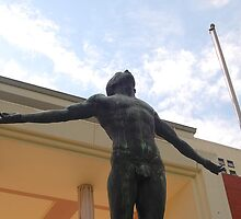 University of the Philippines Oblation (slightly tilted front view) by walterericsy